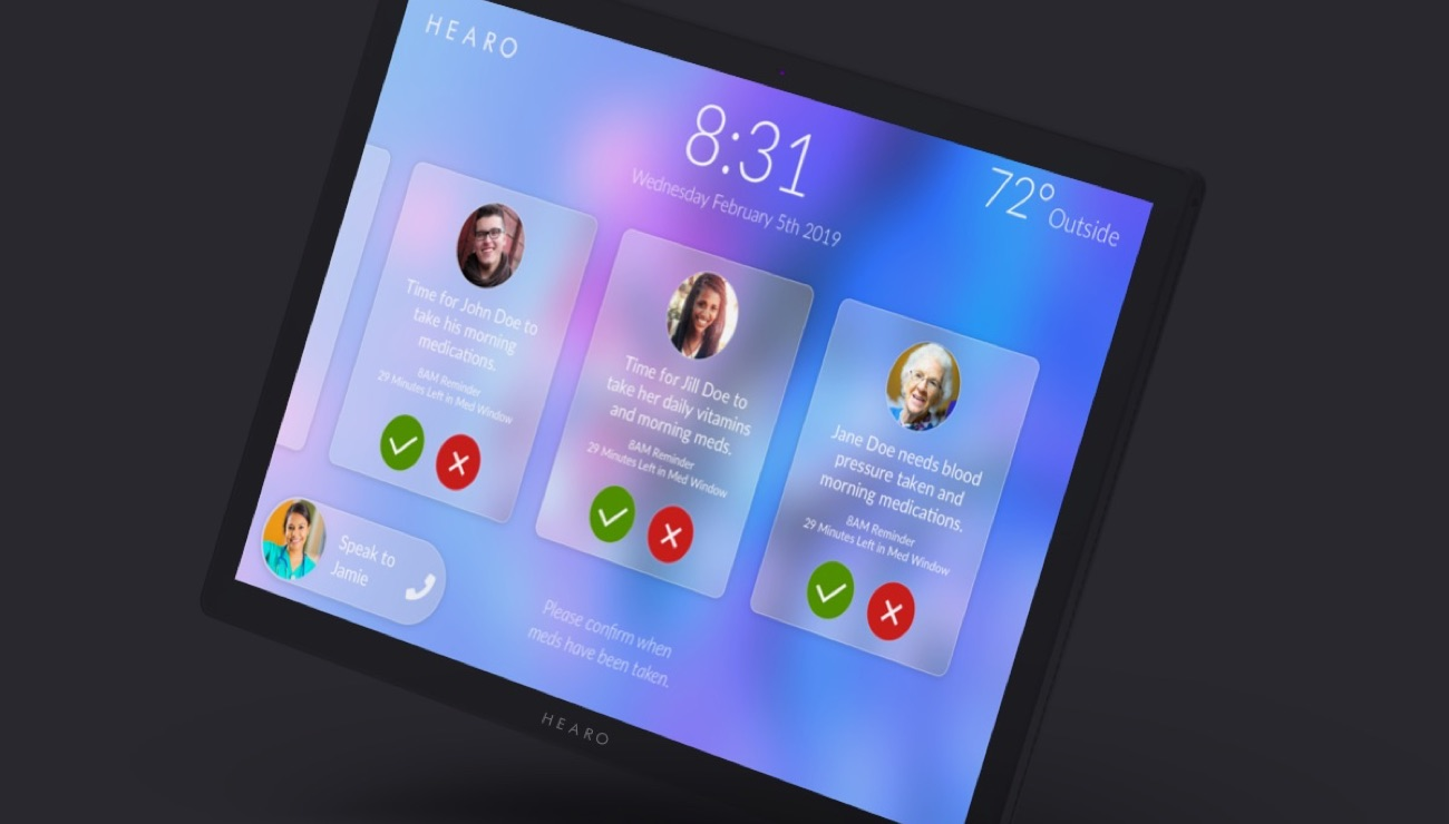 Hearo Technologies pilot Home Healthcare with the Arc